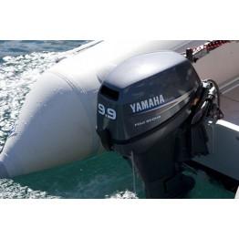 Подвесной 4-х тактный бензиновый лодочный мотор YAMAHA  F9.9JMHS